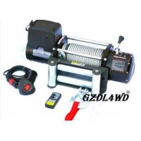 Steel Heavy Duty Truck Winch , 12000lbs Atv Electric Winch With Steel Rope
