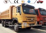 OEM Sinotruk HOWO 6 By 4 Heavy Dump Truck 371HP 380hp 420hp Sand Tipper Truck