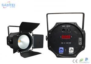 China Warm White 200w COB LED Par Stage Lights , LED Dj Disco Light Indoor 200w DMX 4in1/5in1/6in1 on sale