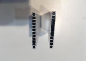 China Alloy 3003 / 3102 Automobile Flat Aluminium Condenser Tube Extrusion on sale