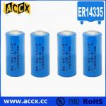 ER14335 3.6V 1650mAh first & primary battery with long self life more than 10 years