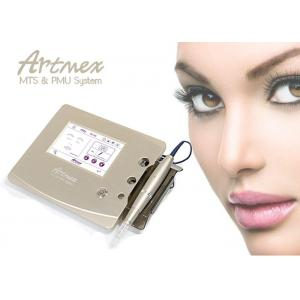 China Champagne Gold Touch Screen Digital Permanent Makeup Removal With Inteligent Pen on sale
