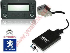 China Automobile USB SD Auxiliary digital media player audio interface kit CD changer emulator on sale