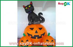 China Inflatable Holiday Decorations , Pumpkin Inflatable Cartoon Characters For Halloween on sale