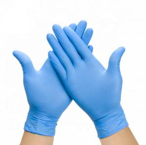 China Safe Disposable Latex Gloves Suitable For For Medical Diagnoses Treatment on sale
