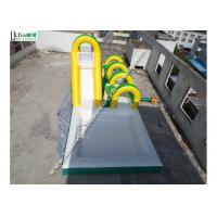 Outdoor Big Commercial Inflatable Water Slides Inflatable Slip N Slide OEM