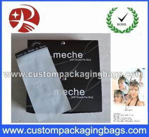 China Plastic Hair Meche / Color Meche for Hair Coloring , Hair Bleaching on sale