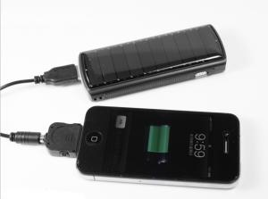 China Solar Powered USB Mobile Phone Charger with Input 1000mA on sale