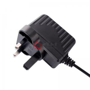 China CB GS CE Approval 12V1A UK Plug AC DC Switching Power Supply 24V 500mA Power Adapters on sale