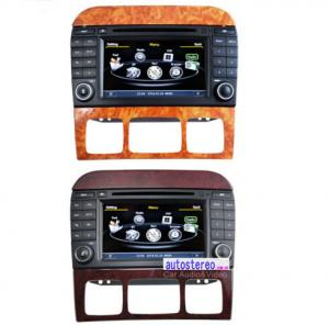 China Car Stereo GPS Mercedes Benz Sat Nav DVD for Benz S-Class 7 Inch Screen on sale
