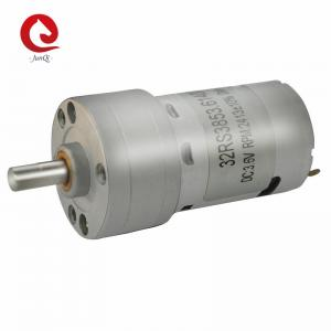 China JUNQI  32RS385 DC Gearbox Motor 24V 32mm Reducer Electric DC motor For Money Counting Machine on sale