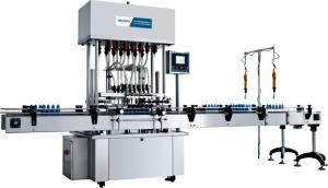 China Electric Automatic Packaging Machine , Easy To Operate Filling Production Line on sale