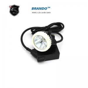 China ABS material water proof rechargeable Led mining cap lamp with 18 hours working time on sale