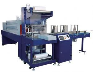 China Overwrap Shrink Packaging Equipment With PLC Control For Pop Can Or Bottle on sale