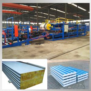 China Steel Profile EPS Sandwich Panel Roll Forming Machine For Construction on sale
