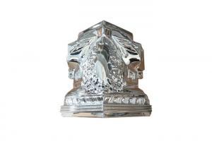 China Funeral Casket Accessories TX - Gersy Model Casket Cornes Silver Color on sale