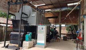 China Environmental Industrial Biomass Fired Steam Boiler For Plywood Industry 6 Ton/H on sale