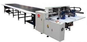China Double Feeder Automatic Gluing Machine To Make Book Cover , Chocolate Box on sale