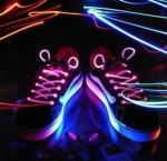 a luz conduzida a mais nova do laço de sapata 2012