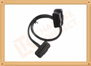 China Custom 1-15M Automotive Flat OBD Obd Extension Cable 16 Pin Odb2 Extension Cable on sale