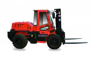China Compact All Terrain Forklift Customized 3.5ton Counterbalance Forklift Truck on sale