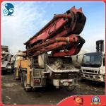bomba concreta de 37M Elepphant Putzmeister com o caminhão de reboque de Isuzu