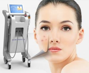 China High quality deeper tissue effect stretch marks removal rf fractional microneedle therapy system on sale