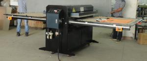 China Double Stations Custom T Shirt Heat Transfer Machine Pneumatic on sale