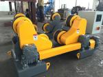 HGZ-10 Self Aligning Welding Rotator 10 Ton Capacity With Foot Pedal Control