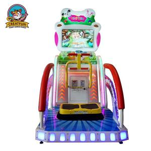 China Kids Lottery Ticket Redemption Machine Happy Jump Racing Type Custom Logo on sale