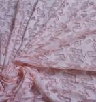2017 Hot Sale Pink Hollow-out the Five-Star Flower Fall-Plate Stitch  Lace  Fabrics