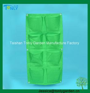 China Vertical Wall Garden Planter Bag on sale