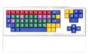 China ABS  Spill - proof Children Color Keyboard with 63 keys for for children under school age on sale