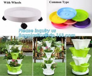 China strawberry hydroponic vertical farming planter pots garden flower pots,nursery plant pots for succulents,bagplastics pac on sale