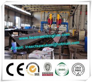 China Gantry Submerged Arc Welding Machine H Beam Steel Production Line on sale