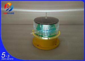 China AH-LS/L Two toggle switch LED solar powered obstruction light/Solar aircraft warning light on sale