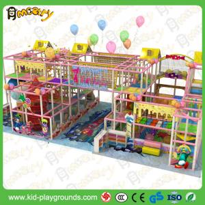 China Hot sale Interesting Indoor Playhouse Plastic Slides Equipment for Children Soft Playground Equipment for Kids Zone on sale