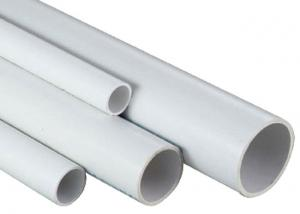 China Double Wall Plastic Drain Tube , Round 2 Inch Plastic Pipe For Drainage on sale