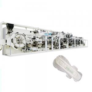 China 380V AC 180KW Ultra Thin Sanitary Napkin Production Line / Sanitary Napkin Production Unit on sale