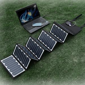 China High efficient 60w  Solar Panel Charger Waterproof Solar Charger for Mobile Laptop on sale