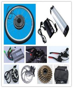 China 48V 1000W electric bike conversion kit with battery on sale