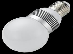 China White 3W 3 * 1W E27 GU10 High Power Brightest E27 Led Bulb AC 100 ~ 240V, 50 / 60Hz on sale