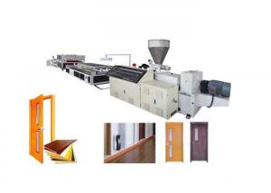 China PVC WPC Foamed Board Machines / wpc board production line For Furniture And Cabinet on sale