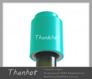 China Food grade ABS  red wine preetype stopper on sale