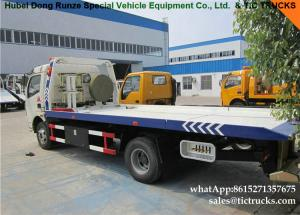 China new China manufacturer flatbed tow truck for cheap price US $18000.00 on sale