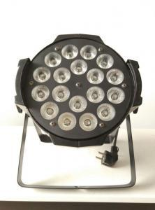 China Wedding Party LED Stage Lighting 18X15w Rgbwa 5 In 1 Indoor Led Par Lamp 50/60HZ on sale