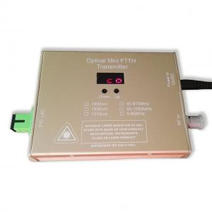 China Compact Structure 1310/1550nm Fiber Optic Transmitter DFB Coaxial Laser Type on sale