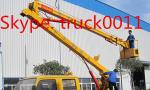 Hot sale CLW brand Overhead working truck for maintenaining Street lights, CLW brand 12m-24m hydraulic bucket truck