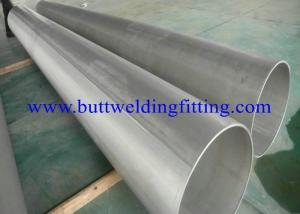 China Stainless Steel Welded Pipe, DIN 17457 1.4301 / 1.4307 / 1.4401 / 1.4404 EN 10204-3.1B, PA, AND PE, SCH5S, 10S, 20, 40S on sale