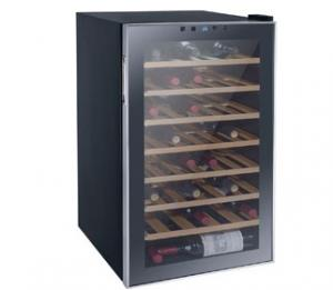 China 51 Bottles 128L Wine Cooler Single Zone (compressor Wine Cellar) on sale
